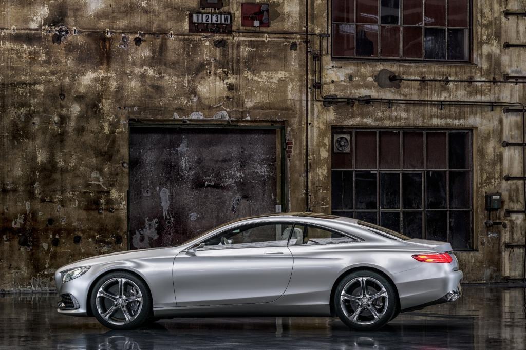 Mercedes bringt 2014 das S-Klasse Coupé. Hier noch die Studie - © Daimler