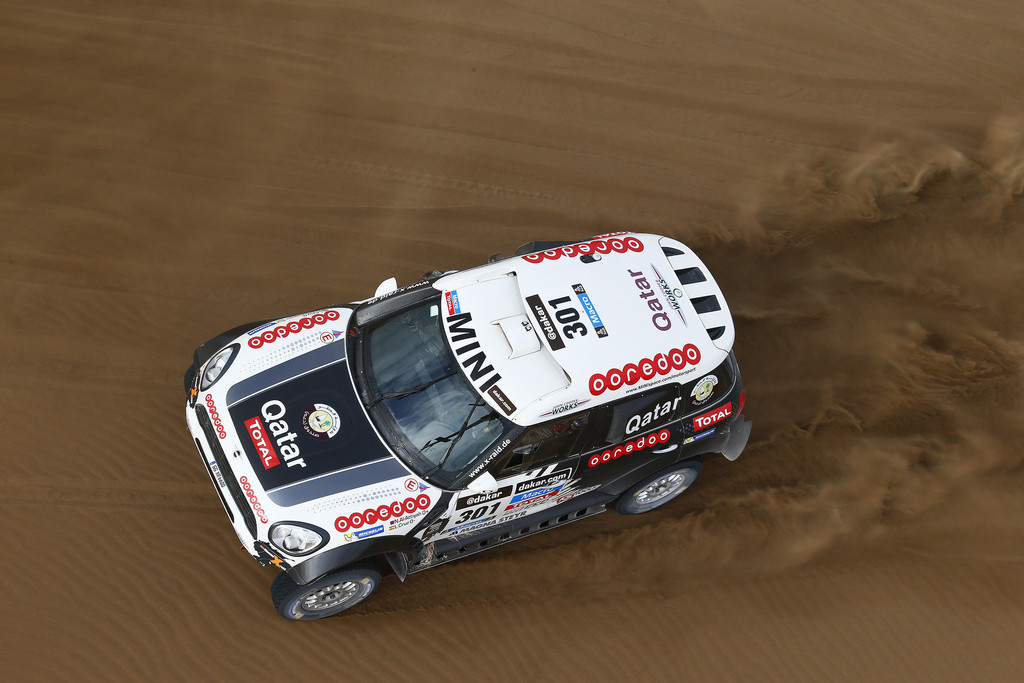 Mini All4 Racing von Nasser Al-Attiyah.