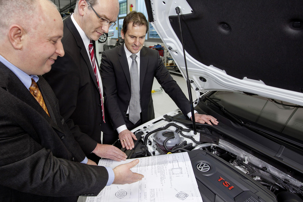 Mitarbeiterideen sparen bei VW 125 Millionen Euro