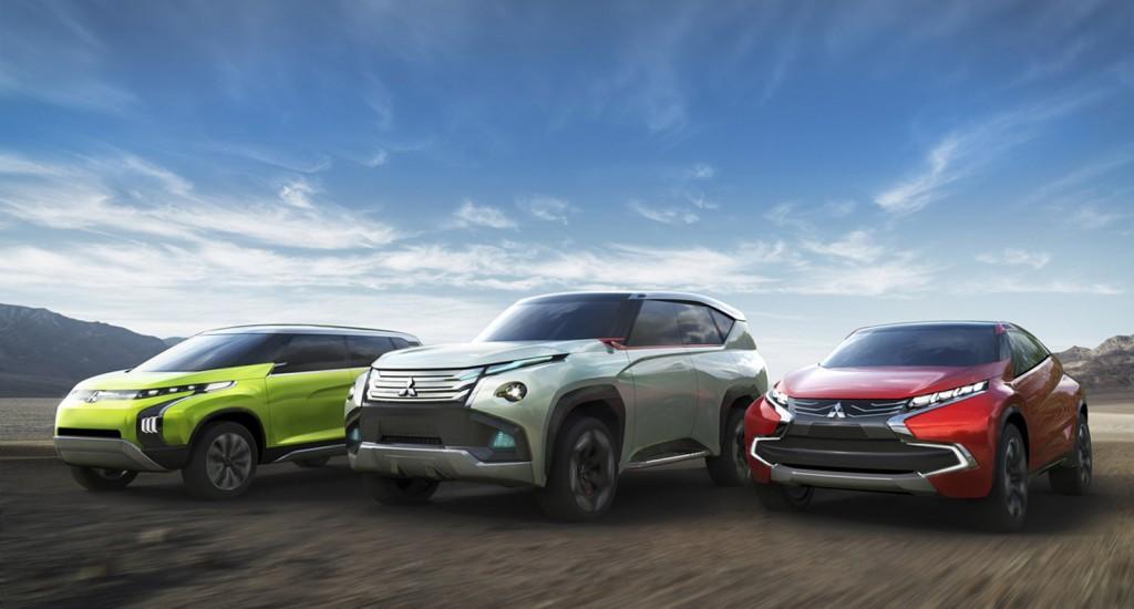 Mitsubishi Concept Cars, vorgestellt auf der Tokio Motor Show 2013