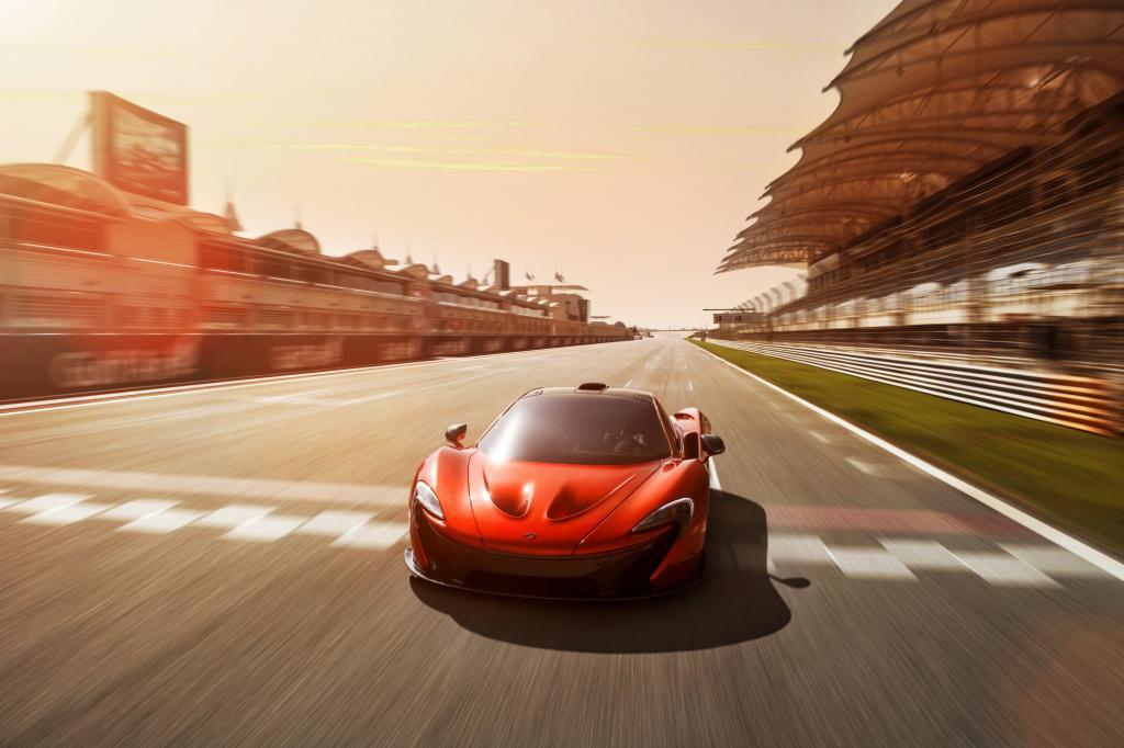 Nicht umsonst steht das Kürzel, das McLaren für sein neues Top-Modell gewählt hat, in der Formel 1 für die Pole Position.