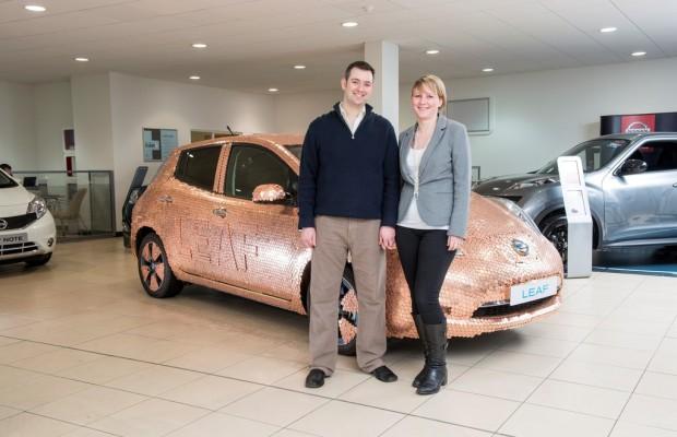 Nissan Leaf macht die 100 000 voll