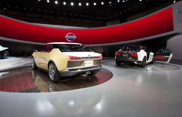 Nissan mit drei Konzeptfahrzeugen in Detroit