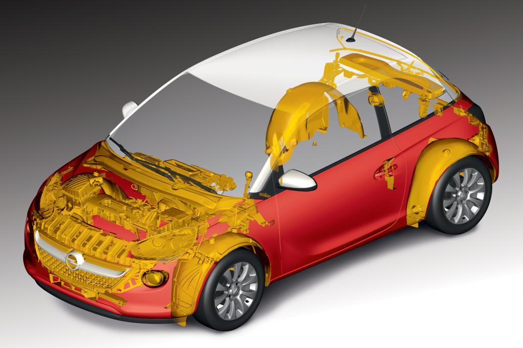 Opel Adam führend bei Recycling