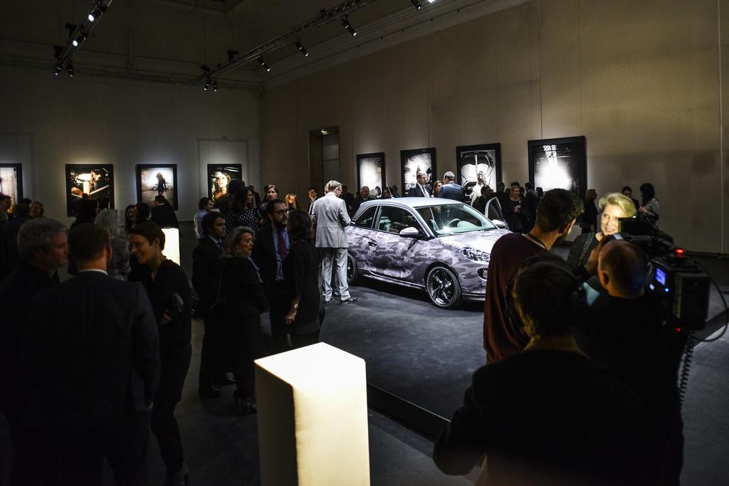 Opel-Ausstellung zeigt den Adam by Bryan Adams