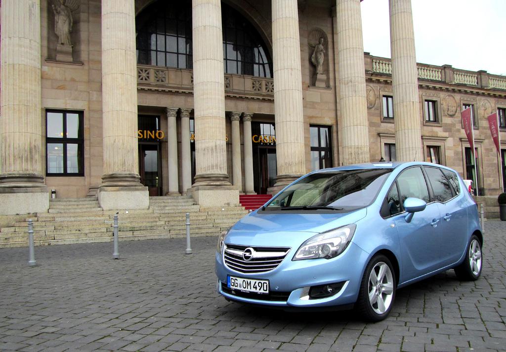 Opel Meriva: Die zweite Generation ist seit 2010 am Start.
