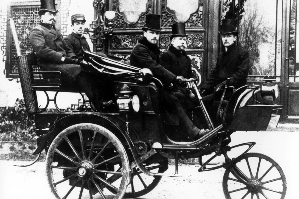 Peugeot Typ 1 Serpollet Dampfwagen, 1889