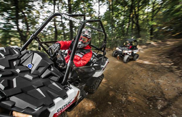 Polaris mixt ATV und SSV
