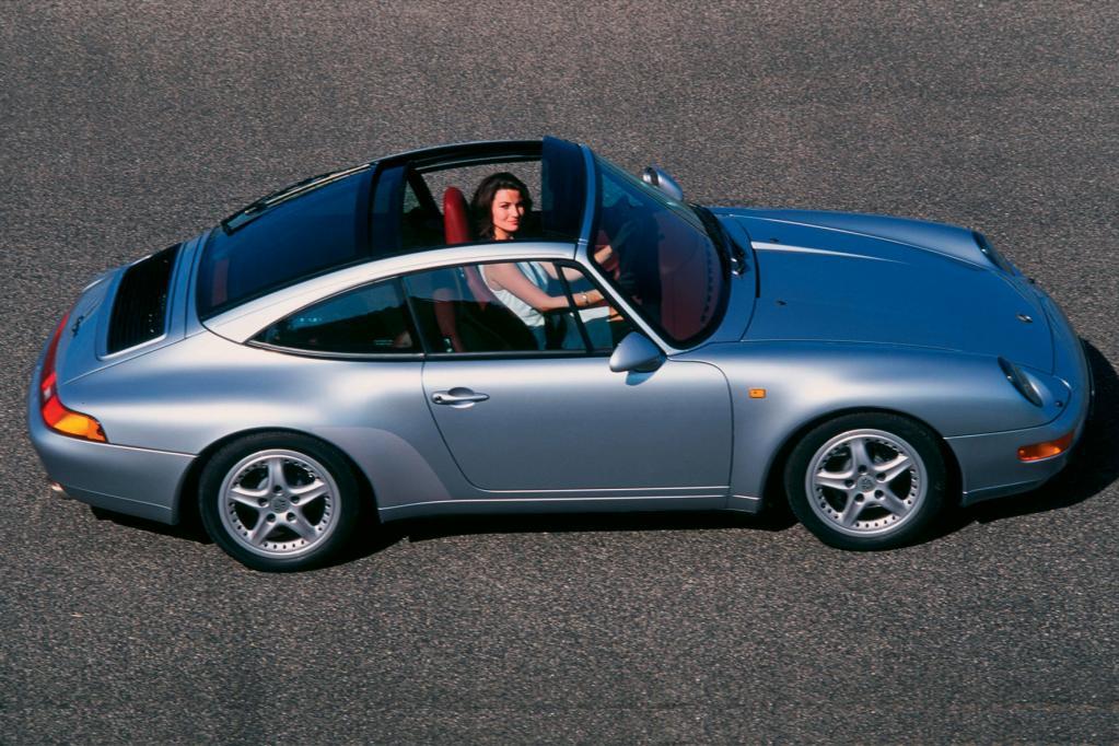 Porsche Targa mit modernstem Dachkomfort
