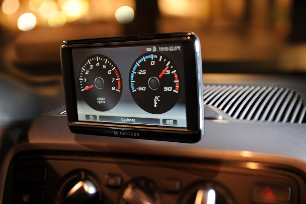 Praktisch ist das portable Navigationsgerät für zusätzliche 375 Euro.