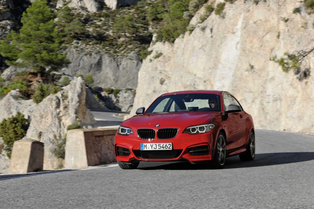 Pressepräsentation BMW M 235i Coupé: Keine Lust auf gerade Strecken