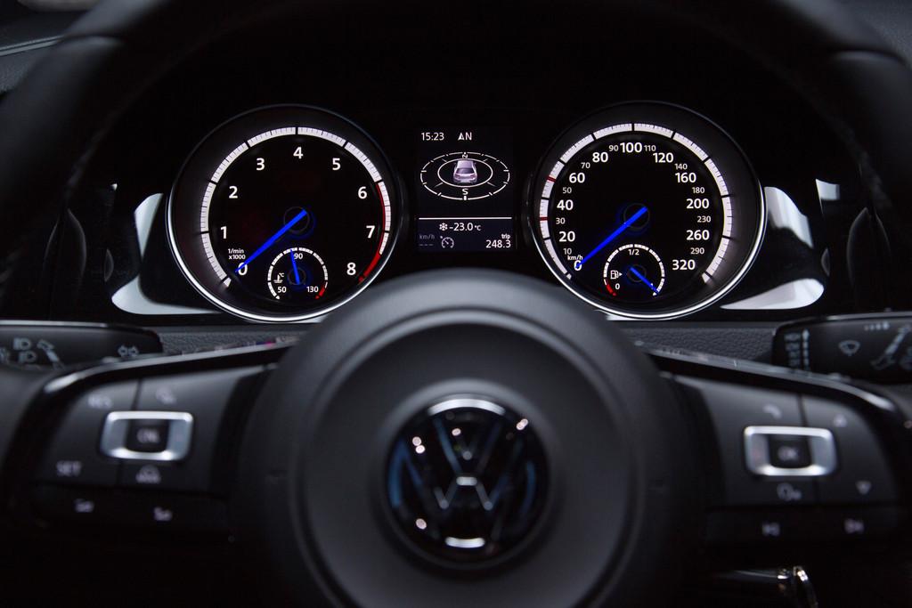 Pressepräsentation Volkswagen Golf R: Darf's ein bisschen quer sein?