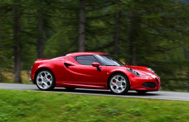 Schönheit: Alfa Romeo 4C gewinnt Preis in Frankreich