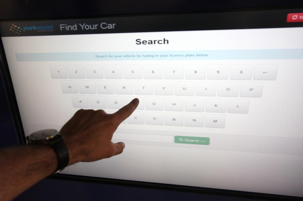 Schon drei Ziffern oder Buchstaben genügen, dann erscheint auf dem Bildschirm eine Fahrzeugauswahl.