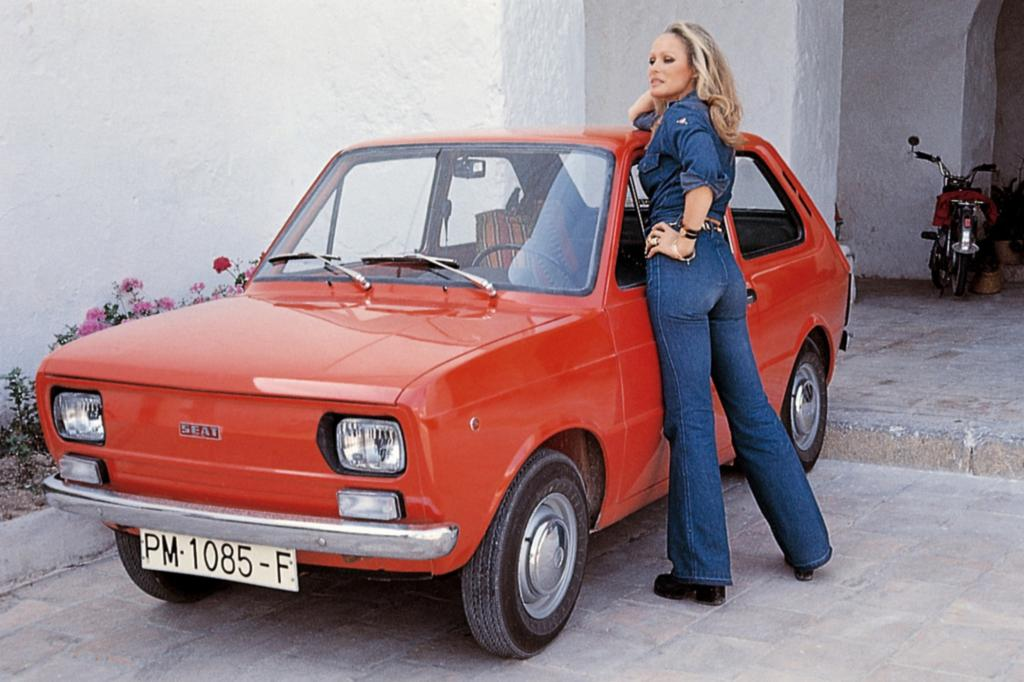 Seat 133 ab 1974 mit Ursula Andress