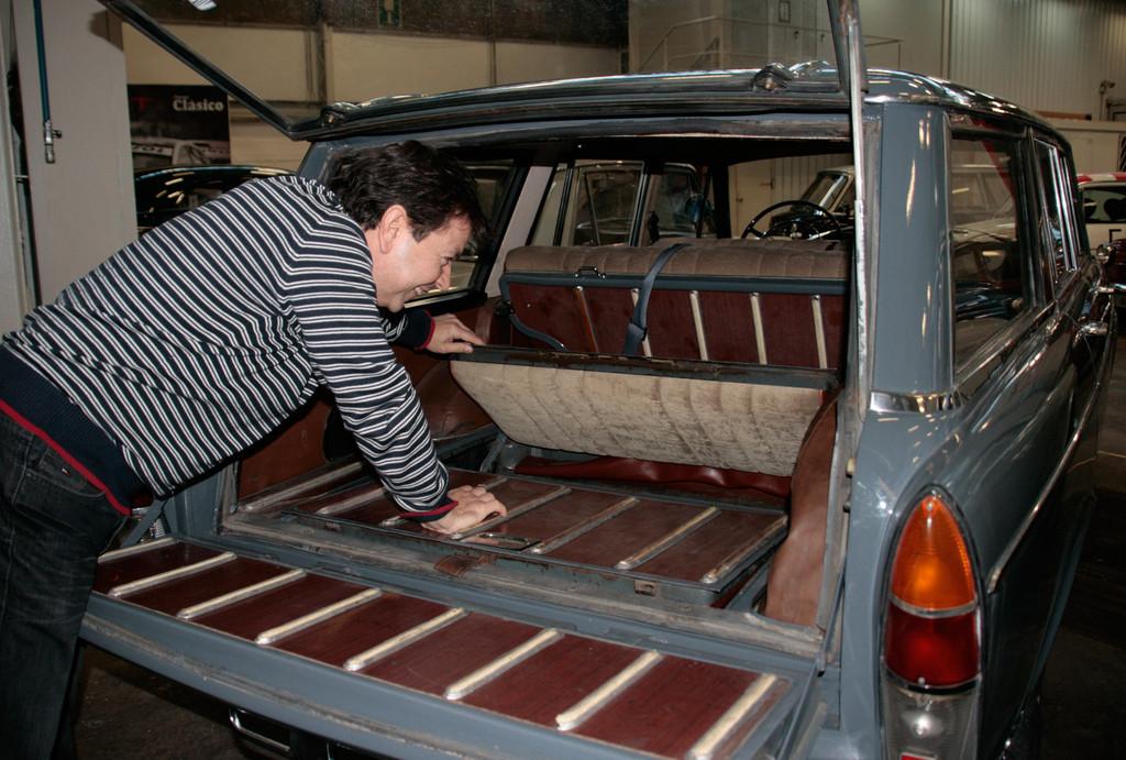 Seat-Sammlung in Barcelona: Der Seat 1500 bot seinen Nutzern schon eine versenkbare dritte Sitzreihe