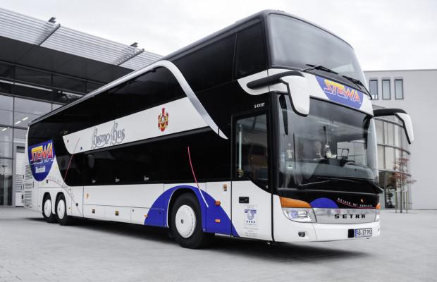 Setra übergibt drei Bistrobusse
