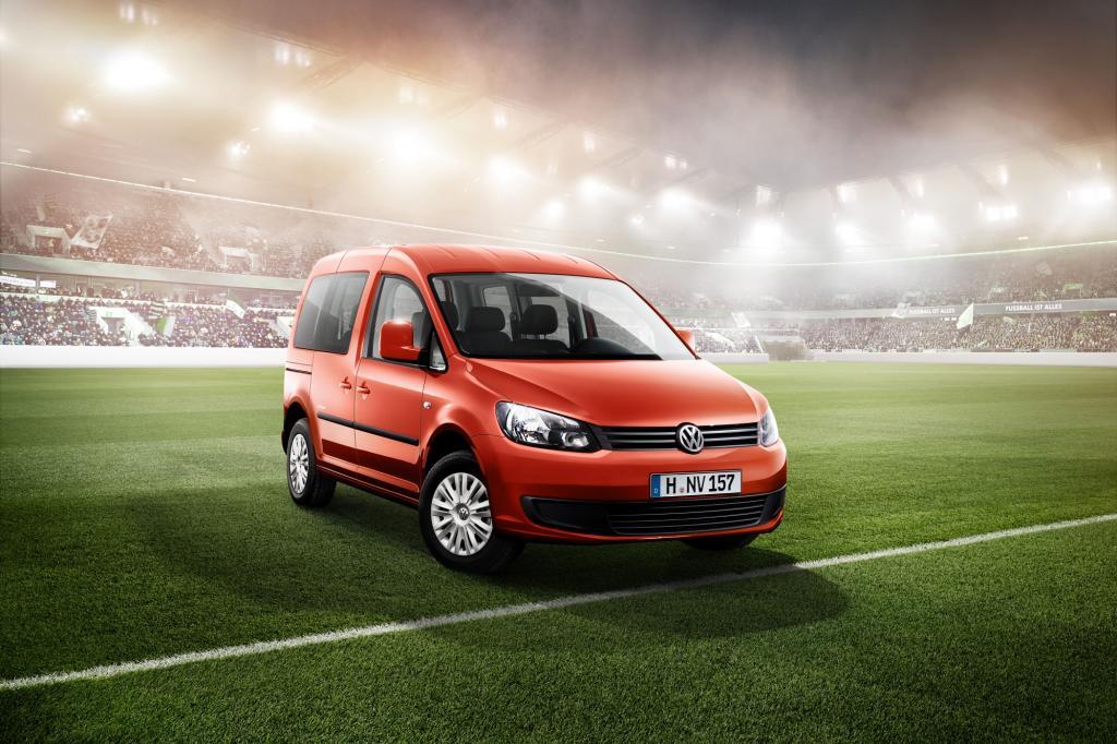 Sondermodell VW Caddy Soccer - Nutzfahrzeug mit Torprämie