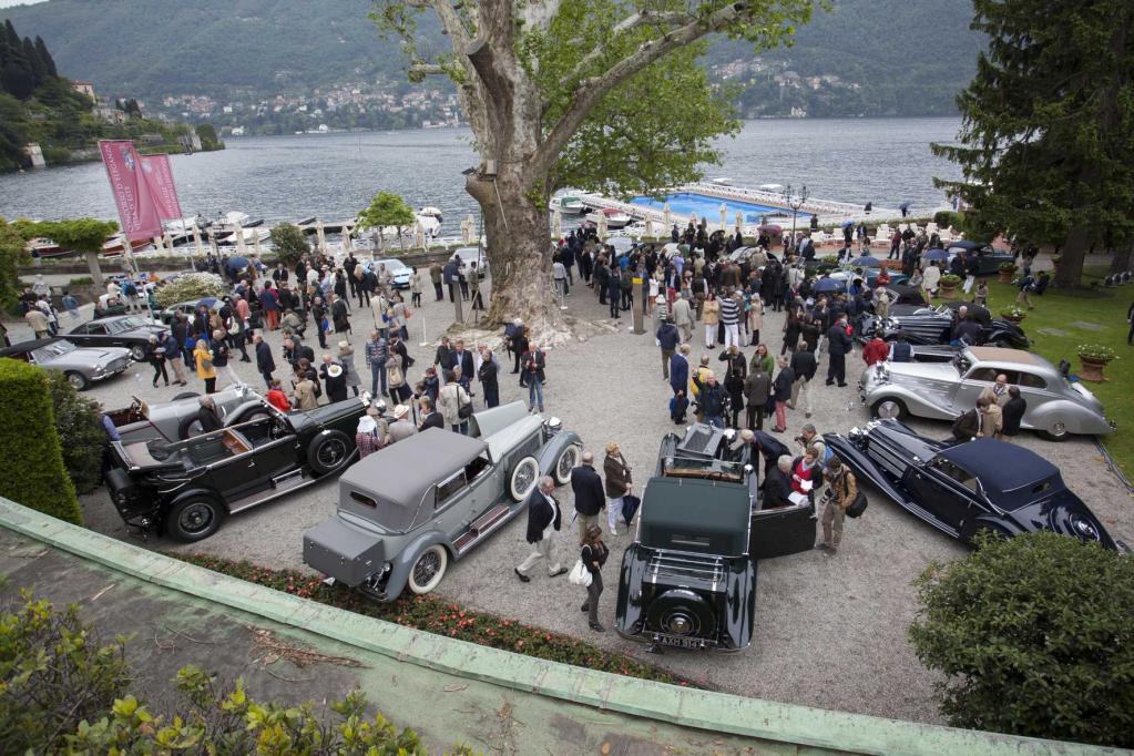 Stilvolles Rolls-Royce-Jubiläum in der Villa D'Este