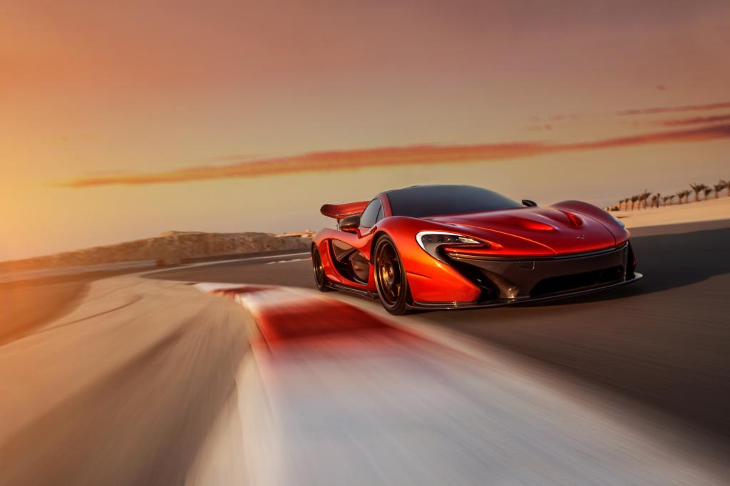 Test McLaren P1 - Major Tom im Tiefflug