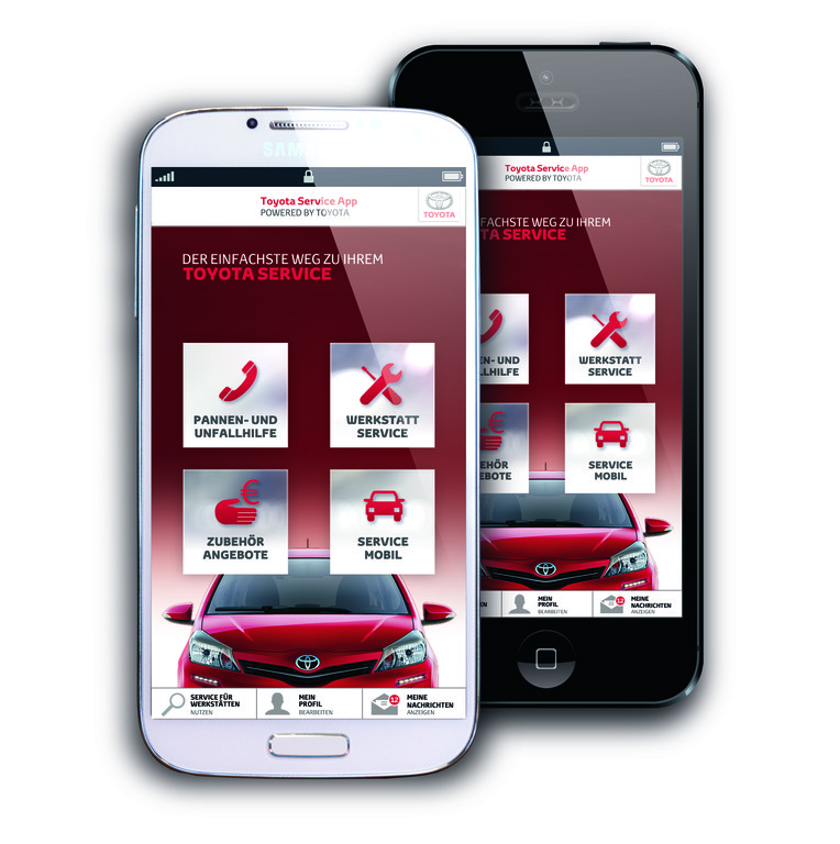 Toyota-App erleichtert Service