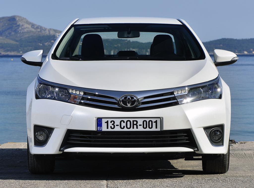 Toyota Corolla: Blick auf die Frontpartie.