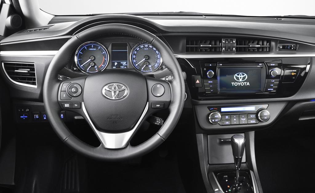 Toyota Corolla: Blick ins Cockit.