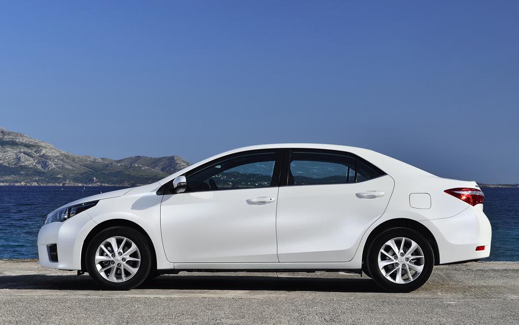 Toyota Corolla: So sieht die Neuauflage von der Seite aus.