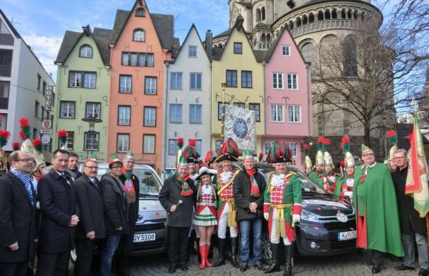 Toyota mobilisiert Karnevalisten
