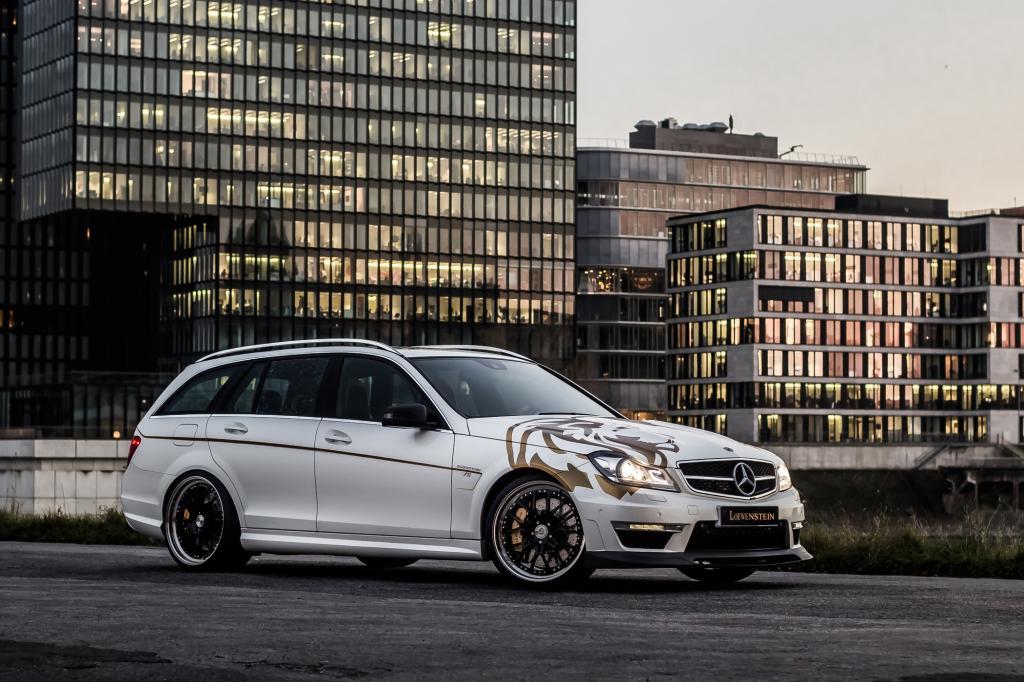Tuning für den Mercedes C63 AMG - Kombi im Kraftrausch