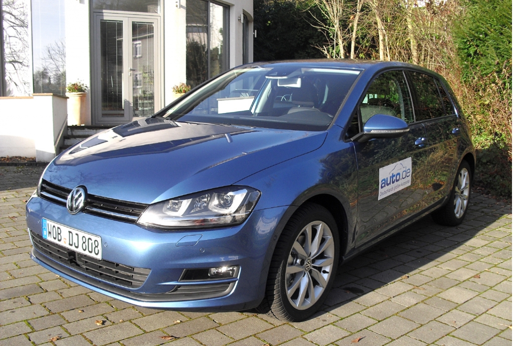 VW Golf, hier als Allrad-Basisdiesel mit 77/105 kW/PS