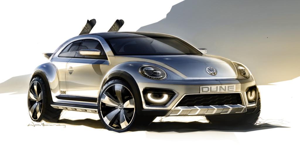 Volkswagen Beetle Dune Concept   Foto: Auto-Medienportal.Net/Volkswagen