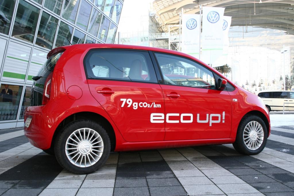 Volkswagen Eco-Up - Foto: Auto-Medienportal.Net