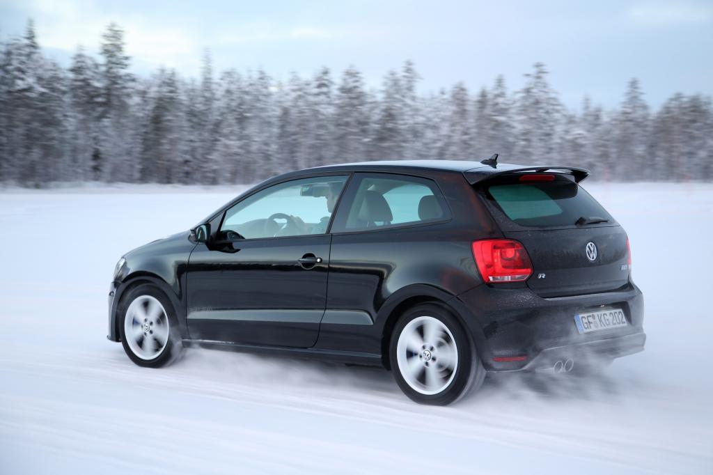Wintererpsobung des VW Polo R.