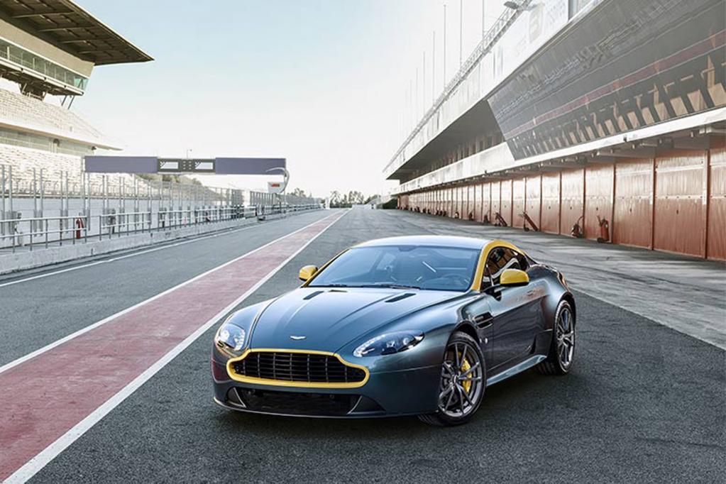 Aston Martin: Sondermodelle aus dem Rennsport