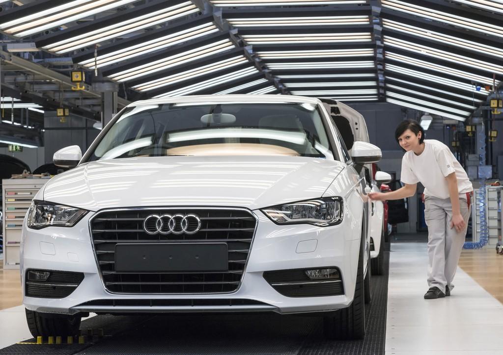 Audi fährt 33 Sonderschichten