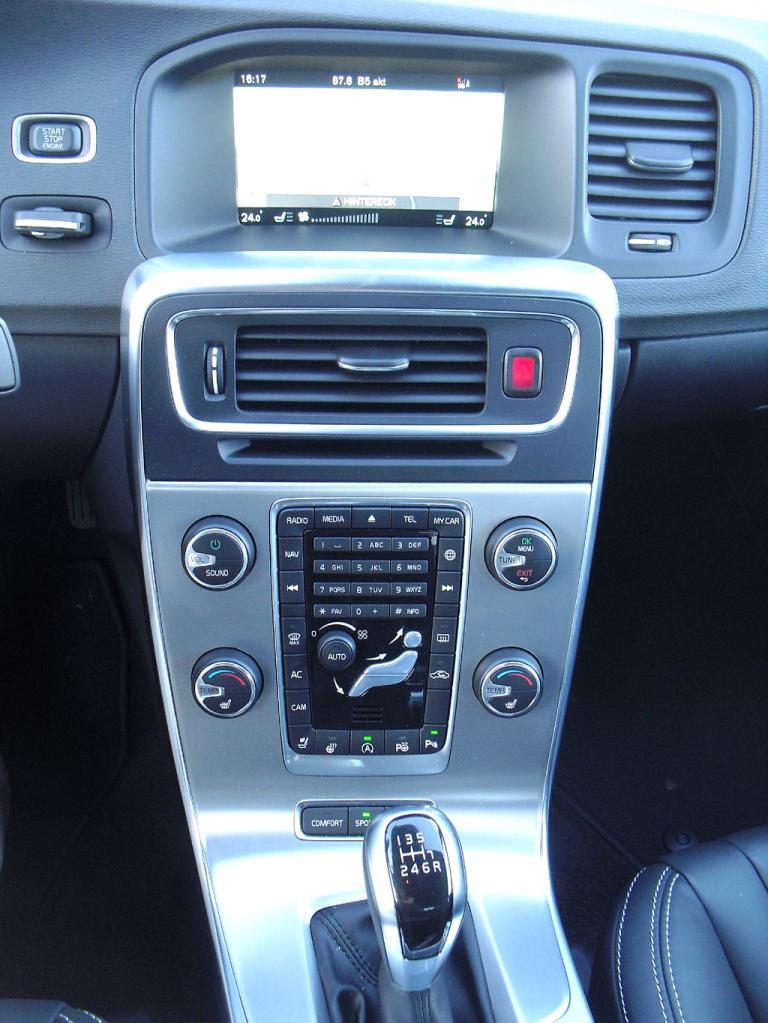 Auf die freischwebende Mittelkonsole werden Volvo-Fahrer künftig verzichten müssen.