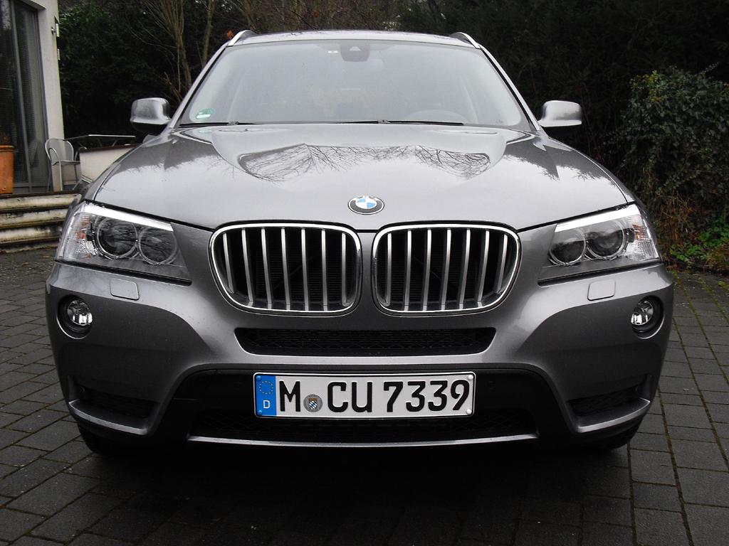 BMW X3: Blick auf die Frontpartie.