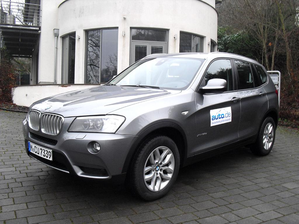 BMW X3, hier als zweitstärkster Diesel mit 190/258 kW/PS.