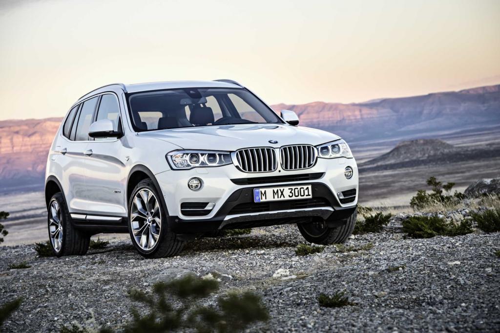 BMW überarbeitet zum Frühjahr sein Mittelklasse-SUV X3