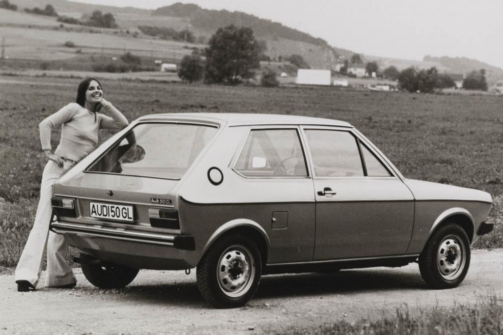 Bis heute ist er der kompakteste Audi -  in den äußeren Abmessungen und mit einem Trocken-Kampfgewicht von 600 Kilogramm