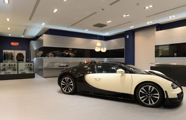 Bugatti eröffnet Showroom in Qatar