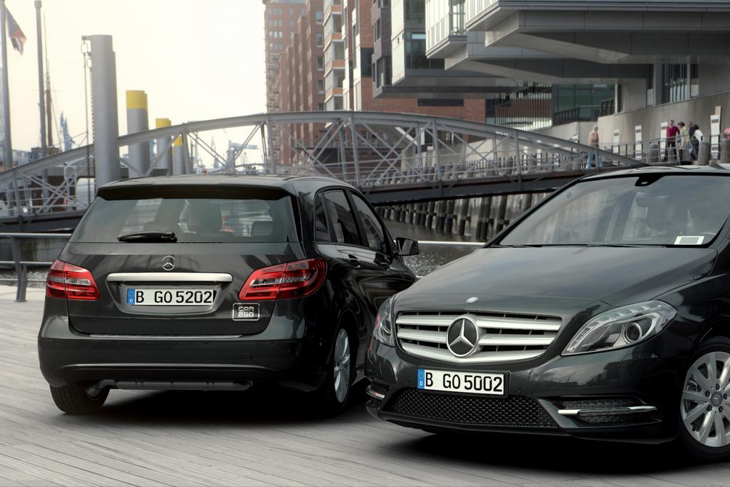 Car2go jetzt auch mit der Mercedes B-Klasse