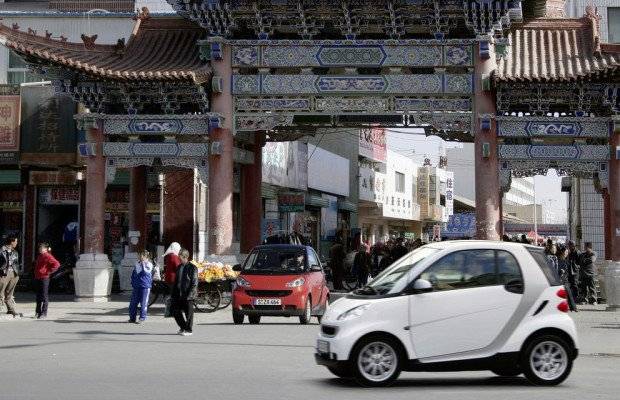 Chinesen favorisieren Smart Fortwo