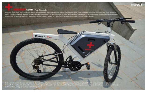 Cross X Hybrid-Bike - Das Rad für Notfälle