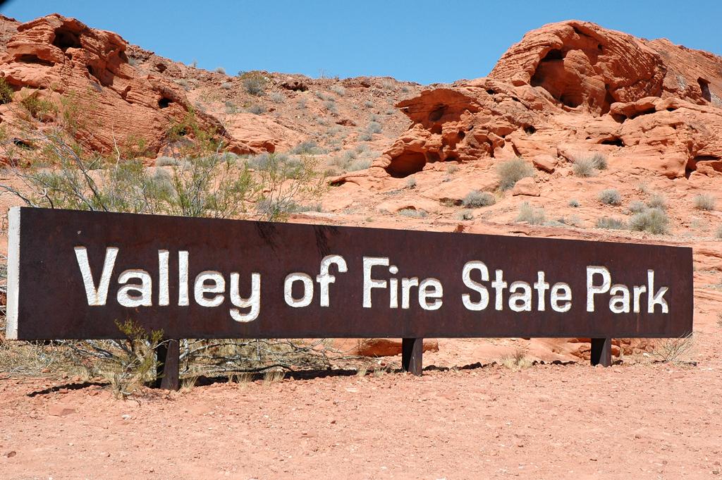 Das Valley of Fire ist der größte und älteste State Park in Nevada.