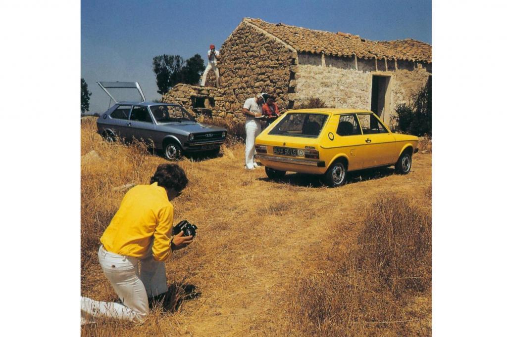 Der Audi 50 machte Luxus in Form von Leistung begehrenswert