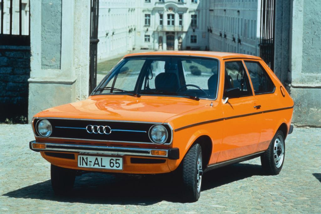 Der Audi 50 rundete die moderne Modellpalette der Marke im Zeichen der vier Ringe aus Audi 80 und Audi 100 nach unten ab