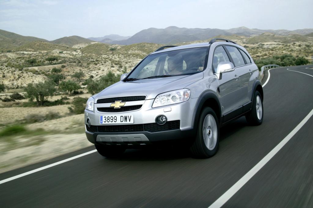 Der Chevrolet Captiva ist beim TÜV kein Musterschüler