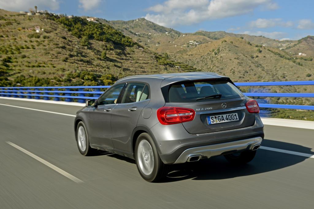 Der Mercedes GLA ist nicht nur eine hochgebockte A-Klasse.